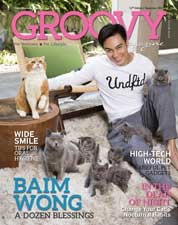 GROOVY MAGAZINE (Pet Wellness & Pet Lifestyle) Magazine Cover ED 12 December 2017