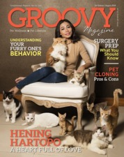 GROOVY MAGAZINE (Pet Wellness & Pet Lifestyle) Magazine Cover ED 14 August 2018