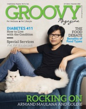 Cover Majalah GROOVY MAGAZINE (Pet Wellness & Pet Lifestyle) ED 15 Desember 2018