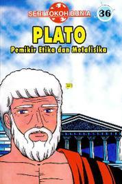 Cover Seri Tokoh Dunia 36: Plato (Pemikir Etika dan Metafisika) oleh