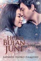 Hujan Bulan Juni (Sebuah Novel - Cover Film) by Sapardi Djoko Damono Cover