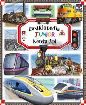 Cover Ensiklopedia Junior : Kereta Api oleh Groupe Fleurus