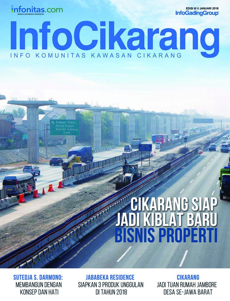 InfoCikarang Digital Magazine January 2018