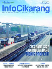 InfoCikarang Magazine Cover January 2018
