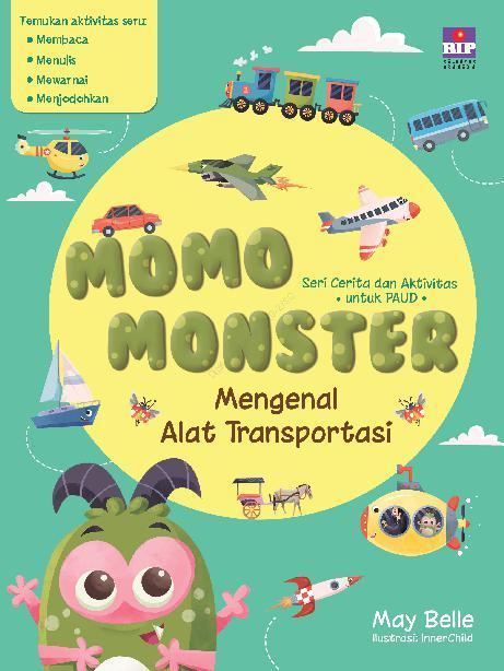 Jual Buku Seri Cerita Dan Aktivitas Untuk Paud Momo Monster