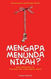 Cover Mengapa Menunda Nikah? oleh Dr. H. Aam Amiruddin