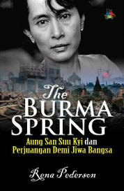 The Burma Spring by Rena Pederson Cover