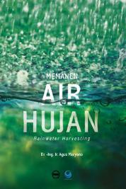 Memanen Air Hujan by Agus Maryono Cover