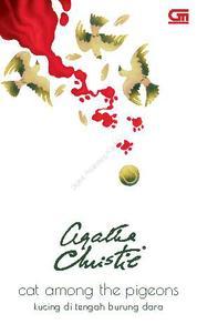 Cover Kucing di Tengah Burung Dara (Cat Among the Pigeons) oleh Agatha Christie