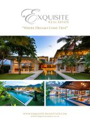 EXQUISITE REAL ESTATE Magazine Cover
