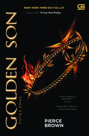 Cover Putra Emas (Golden Son) oleh Pierce Brown
