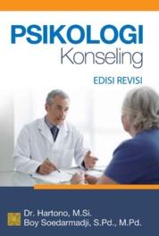 Psikologi Konseling by Dr. Hartono, M.Si. Cover