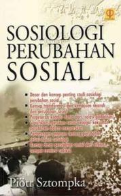 Cover Sosiologi Perubahan Sosial oleh Piotr Sztompka