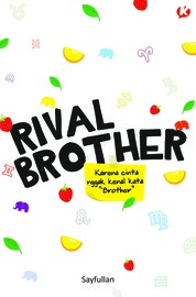 Cover Rival Brother (Novel Koloni) oleh Sayfullan