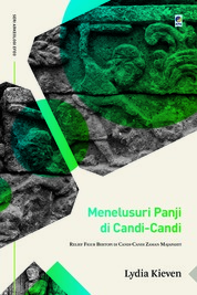 Cover Menelusuri Figur Bertopi Pada Relief Candi Zaman Majapahit oleh Lydia Kieven