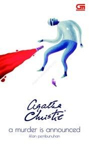Cover Iklan Pembunuhan (A Murder is Announced) oleh Agatha Christie