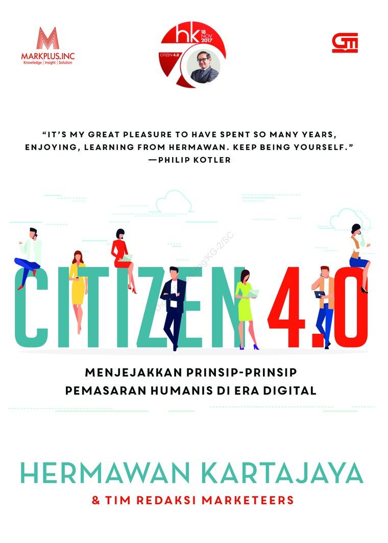 Buku Digital Citizen 4.0 oleh Hermawan Kartajaya