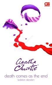 Cover Ledakan Dendam (Death Comes as the End) oleh Agatha Christie