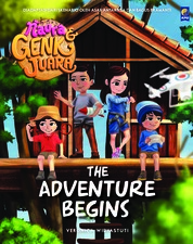 Cover Naura dan Genk Juara: The Adventure Begins oleh Veronica Widyastuti