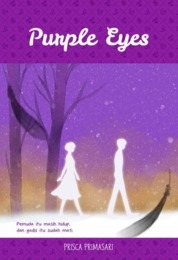 Cover Purple Eyes oleh Prisca Primasari