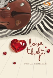 Cover Love Theft oleh Prisca Primasari