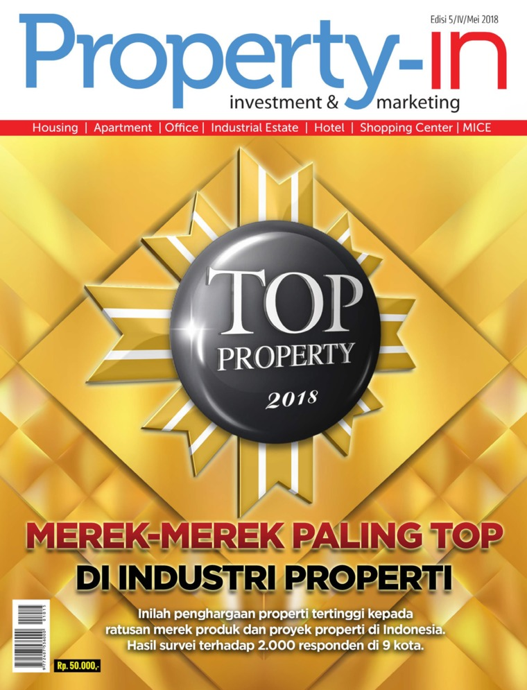 Majalah Digital Property-in ED 05 Mei 2018