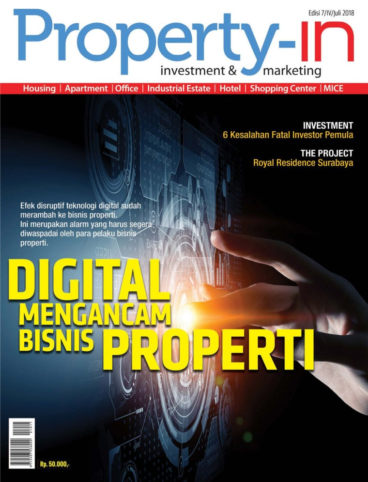Majalah Digital Property-in ED 07 Juli 2018