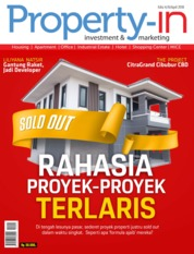 Cover Majalah Property-in ED 04 April 2018