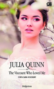 Historical Romance: Cinta Sang Viscount (The Viscount Who Loved Me) by Julia Quinn Cover