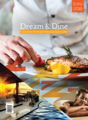 Dream & Dine Magazine Cover 2018