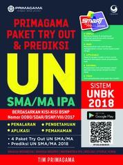 Primagama Paket Try Out dan Prediksi UN SMA/MA IPA 2018 by Tim Primagama Cover