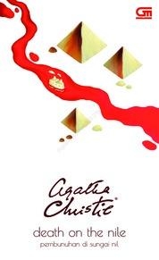 Cover Pembunuhan di Sungai Nil (Death on The Nile) oleh Agatha Christie