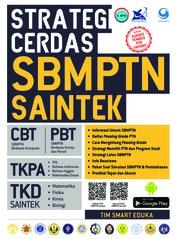 Cover Strategi Cerdas SBMPTN Saintek oleh Tim Smart Eduka