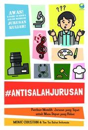 Cover #antisalahjurusan oleh Monic Christian dan Tim Tes Bakat Indonesia