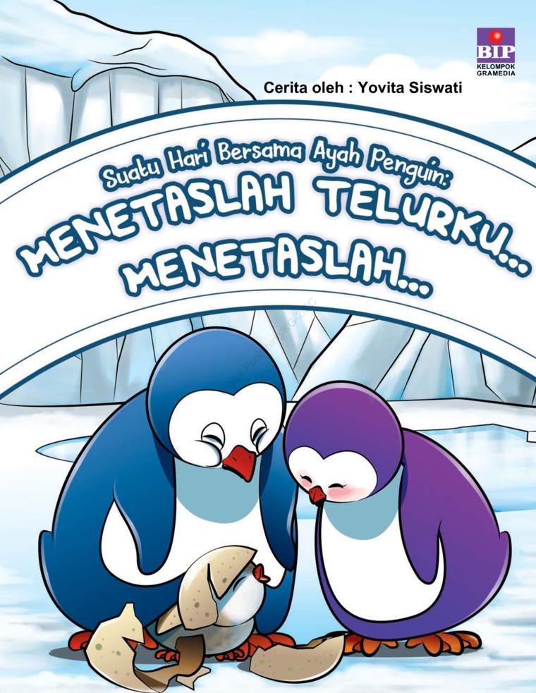 Buku Digital Suatu Hari Bersama Ayah Penguin oleh Yovita Siswati