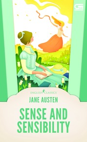 English Classics: Sense and Sensibility by Jane Austen Cover