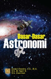 DASAR-DASAR ASTRONOMI. Ed 1 by Deded Chandra, S.Si., M.Si. Cover