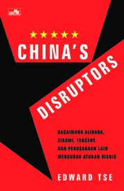 Cover China`s Disruptors oleh Edward Tse