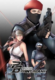 Cover POINT BLANK : RISING oleh public, AP Comics