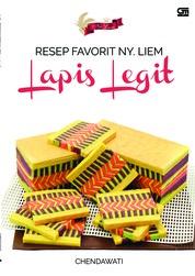 Cover Resep Favorit Ny. Liem: Lapis Legit oleh Chendawati