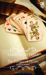 Cover Historical Romance: Bencana Mencintai (The Danger of Desire) oleh Sabrina Jeffries