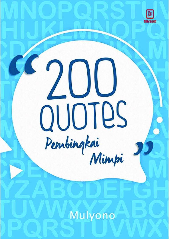 Buku Digital 200 Quotes Pembingkai Mimpi oleh Mulyono