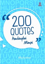200 Quotes Pembingkai Mimpi by Mulyono Cover