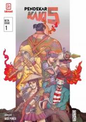 Cover Komik Pendekar Kaki Lima oleh Widi Ponco