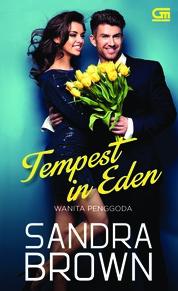 Cover Wanita Penggoda (Tempest in Eden) oleh Sandra Brown
