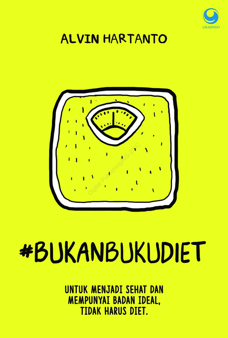 Bukan Buku Diet Book by Alvin Hartanto