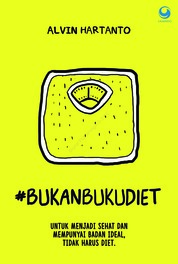 Bukan Buku Diet by Alvin Hartanto Cover