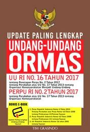 Update Paling Lengkap Undang - Undang Ormas by Tim Grasindo Cover