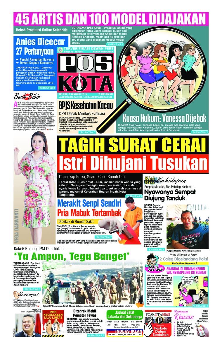 Koran Digital Pos Kota 08 Januari 2019