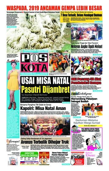 Pos Kota Newspaper 26 December 2018 - Gramedia Digital